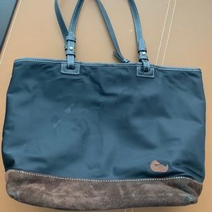 Leather & Canvas Dooney & Bourke tote bag